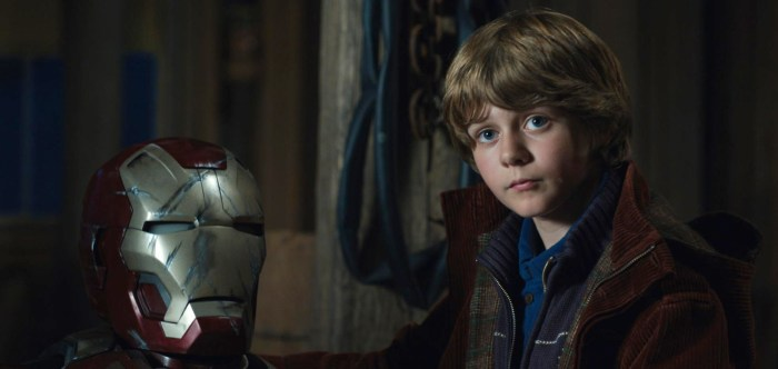 Iron Man 3 - Ty Simpkins in Avengers 4