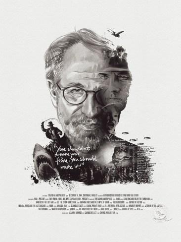 Julian Rentzsch Portrait - Steven Spielberg