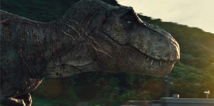 jurassic world 2 t-rex