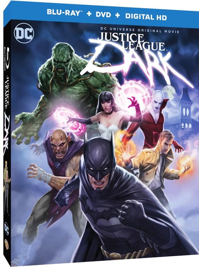 Justice League Dark Blu-ray Cover