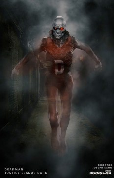 Justice League Dark Concept Art - Deadman