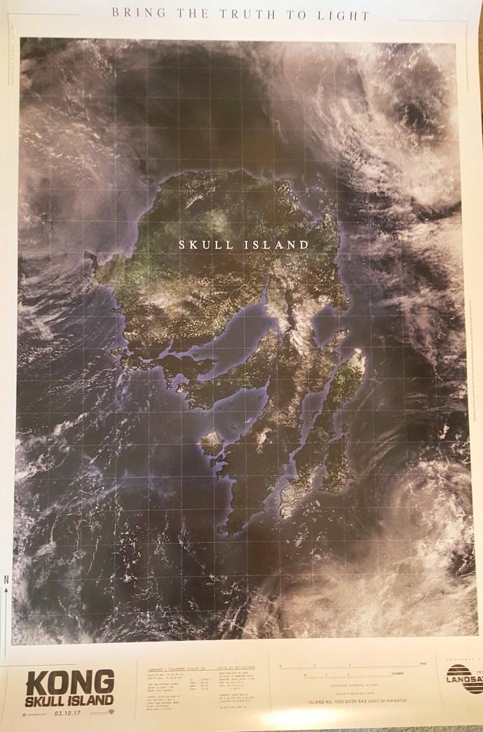 Kong Skull Island NYCC Poster