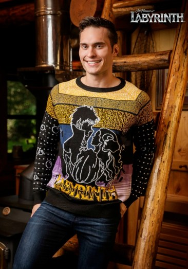 Labyrinth Christmas Sweater