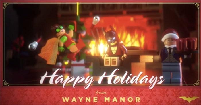 LEGO Batman Movie Holiday Card