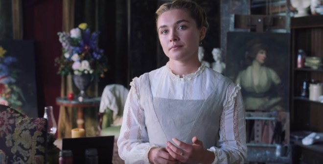 Little Women Clip: Florence Pugh Schools Timothée Chalamet – /Film