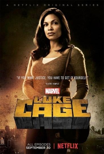 Luke Cage Claire Temple Poster