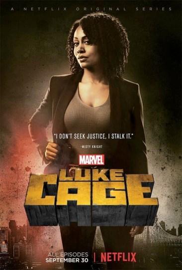 Luke Cage Misty Knight Poster