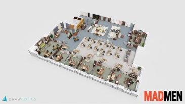 Mad Men 3D Floor Plan