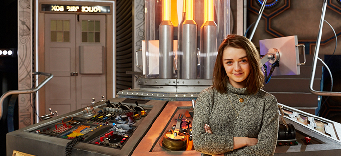 Maisie Williams Doctor Who