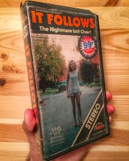 Modern VHS Movie Covers - It Follows