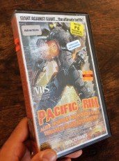 Modern VHS Movie Covers - Pacific Rim