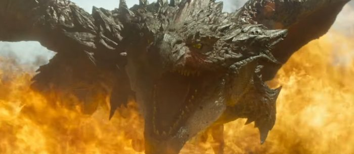 'Monster Hunter' Clip Introduces a Bigger, New and Improved Greater Rathalos Creature [NYCC ]