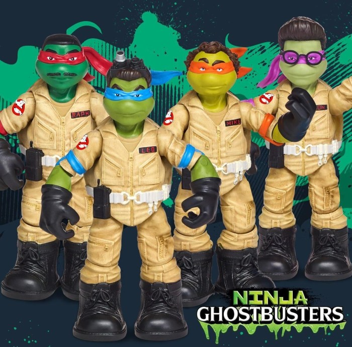 Ninja Ghostbusters
