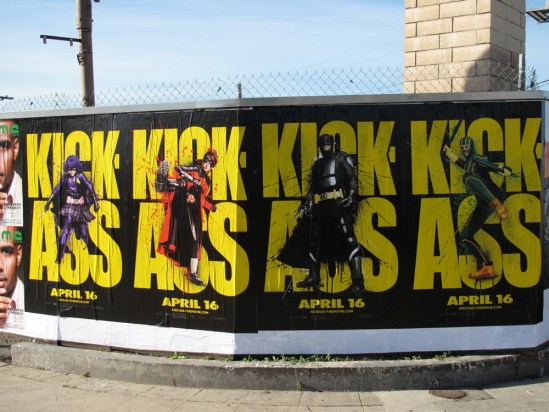 Kick-Ass Outdoor Art Posters