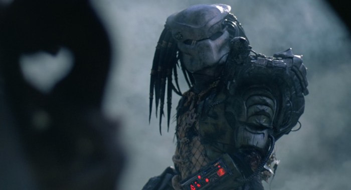 the predator to use practical effects