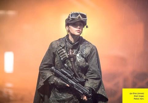 Rogue One: A Star Wars Story - Empire Photo - Felicity Jones as jyn Erso