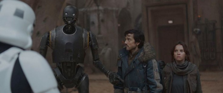 Rogue One - K-2SO, Cassian Andor and Jyn Erso