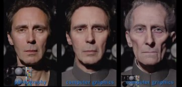 Rogue One - Grand Moff Tarkin Visual Effects