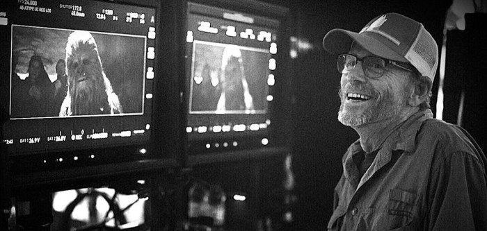 Geroge Lucas Solo Set Visit - Ron Howard