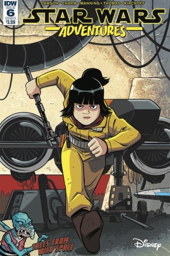 rose tico star wars adventures comic