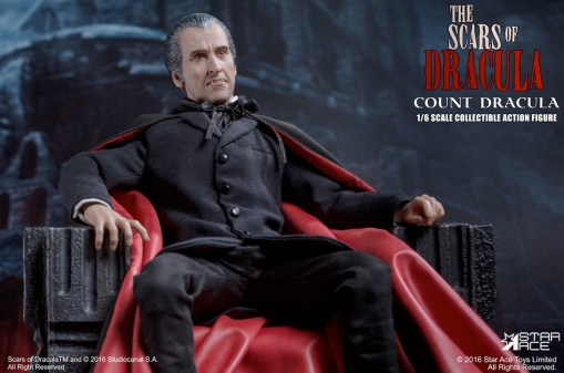 Christopher Lee Dracula Figure