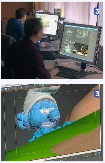 Smurf Movie Footage