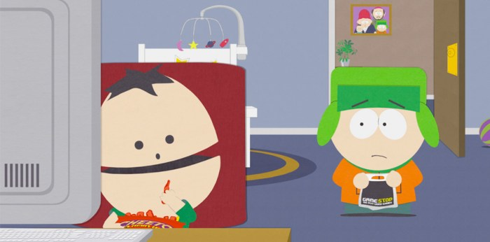 Ike's Voice on South Park