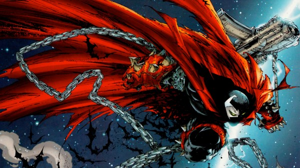 Comic Spawn Todd McFarlane Art