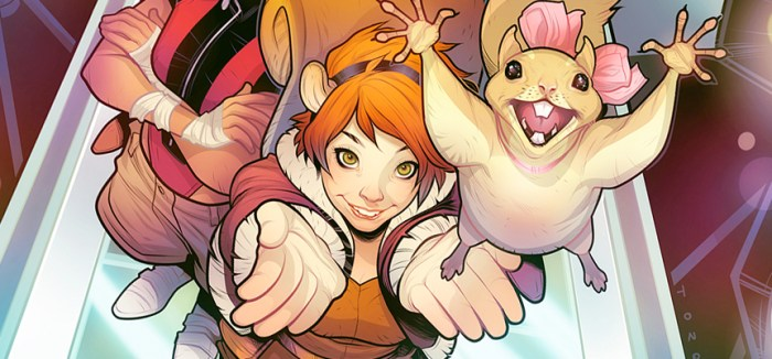 New Warriors TV Series Team - Squirrel Girl