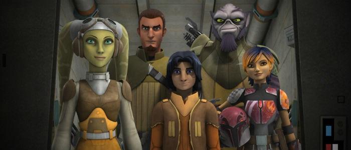 Star Wars Rebels Characters in Star Wars Movies