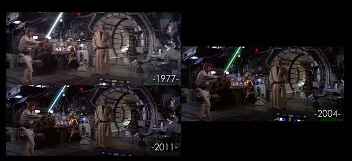 Star Wars changes