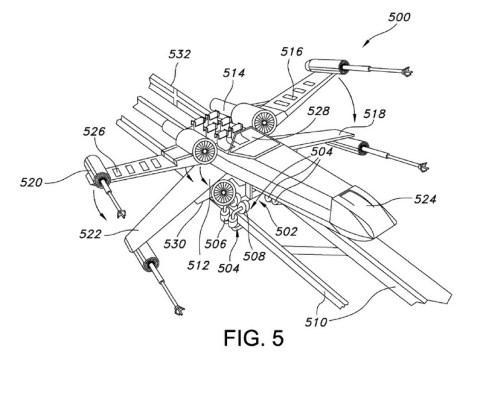 star-wars-x-wing-coaster