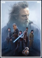 Star Wars The Last Jedi Trading Cards
