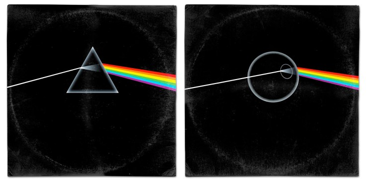 Star Wars vinyl mash-up albums - Pink Floyd