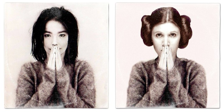 Star Wars vinyl mash-up albums - Yoko Ono