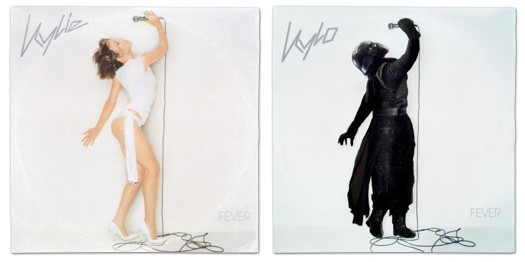 Star Wars vinyl mash-up albums - Kylie Minogue