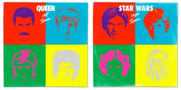 Star Wars vinyl mash-up albums - Queen