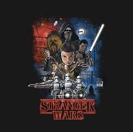 Stranger Things Shirt - The Force Awakens