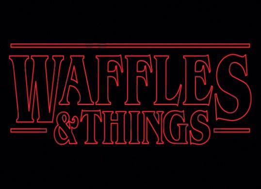 Stranger Things Shirt - Waffles and Things