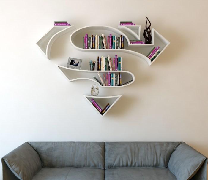 superman-bookshelf