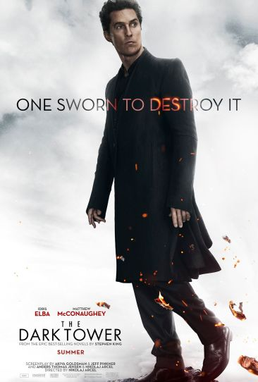 the dark tower poster matthew mcconaughey
