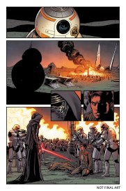 the force awakens comic preview 1