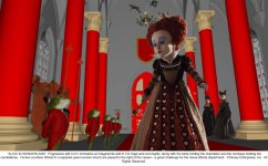 Alice in Wonderland: The Red Queen 2nd Progression 3 of 5
