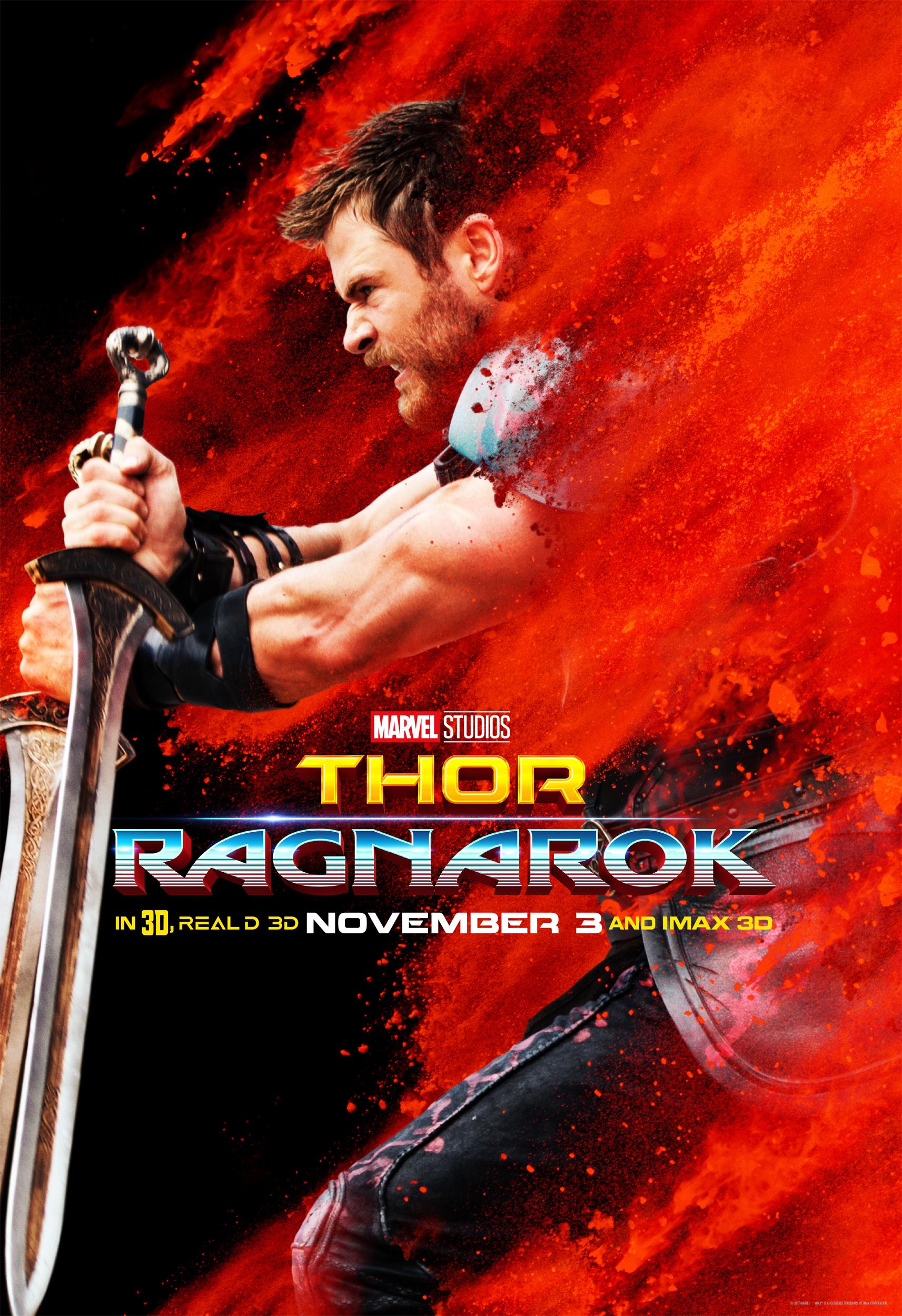 Marvel acaba de liberar nuevas imágenes de 'Thor: Ragnarok'