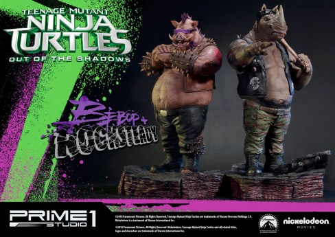 Teenage Mutant Ninja Turtles: Out of the Shadows - Rocksteady and Bebop - Prime1Studio