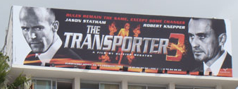 Transporter 3 billboard