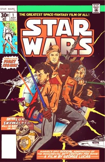 Star Wars: The Force Awakens comic book