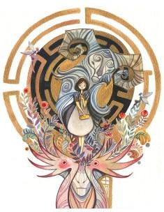 Alina Chau Pan's Labyrinth
