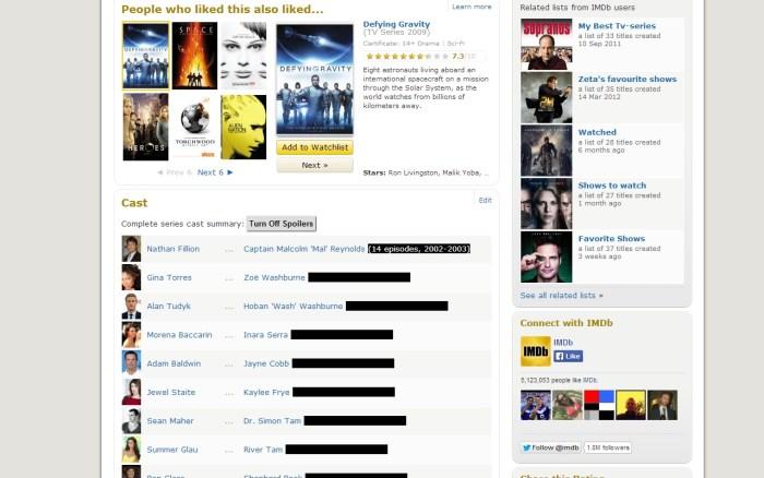 imdb spoilers