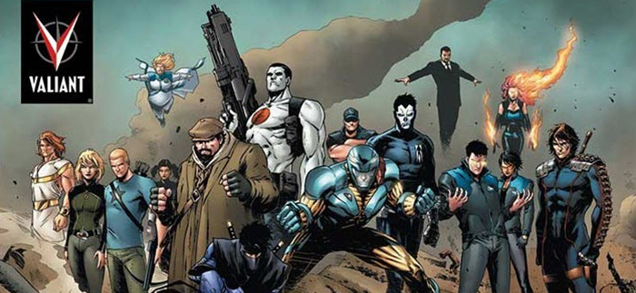 Valiant comics movie universe